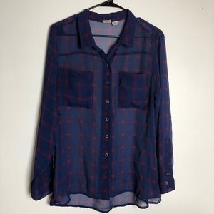Mudd Plaid Shirt